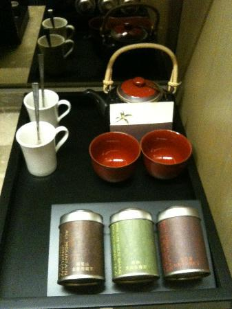 Grand View Resort Beitou: complimentary chinese tea set