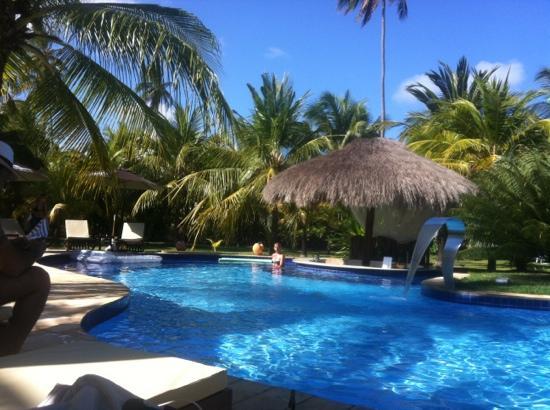 Casa Acayu Pousada & Bungalows: swimming pool with bar
