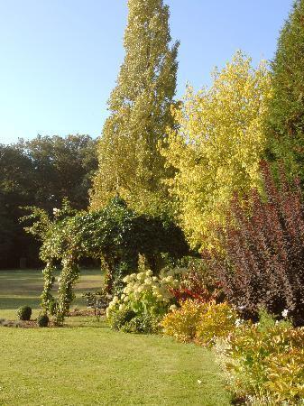 Montrouveau, Frankrijk: Le parc au début de l'automne