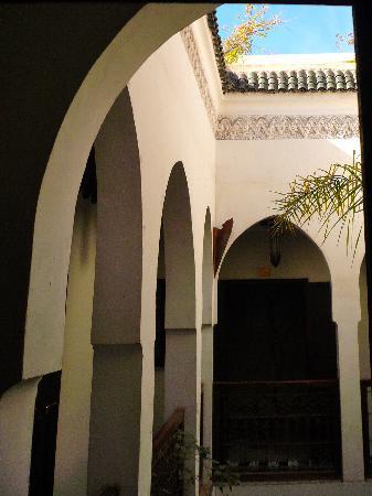 Riad Aguaviva: courtyard