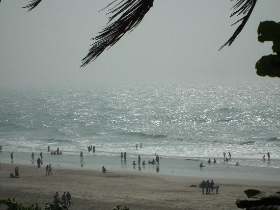 Ganapatipule Beach: View from MTDC resort