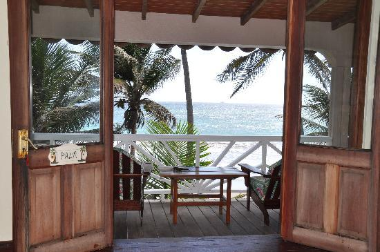Petite Anse Beachfront Hotel & Restaurant Grenada: From the inside of one of our beachfront cottages.
