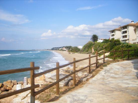 Coma Ruga, إسبانيا: Playa El Francàs