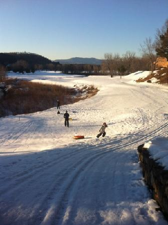 Cold Spring Resort: sledding