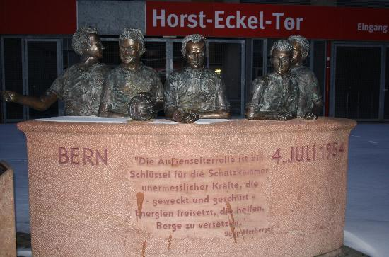 Fritz Walter Stadion: Horst-Eckel Tor