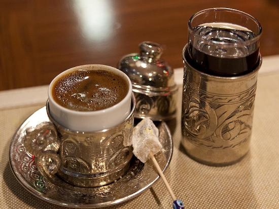 Hotel Sultania: Traditional Turkish Coffee