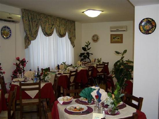 Hotel Ginevra: sala da pranzo