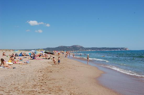 Mas Pinell, Spanien: Beach (max 100m from house)