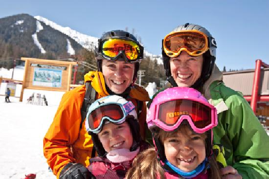 Fernie, Kanada: Family ski vacation