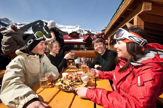 Fernie, Kanada: Apres ski at the Griz Bar