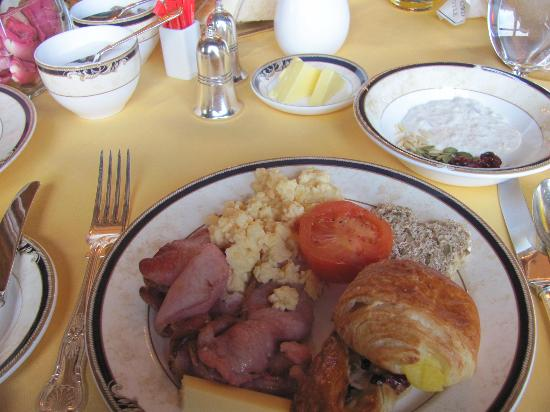 George V Dining Room: Just a sample of the breakfast