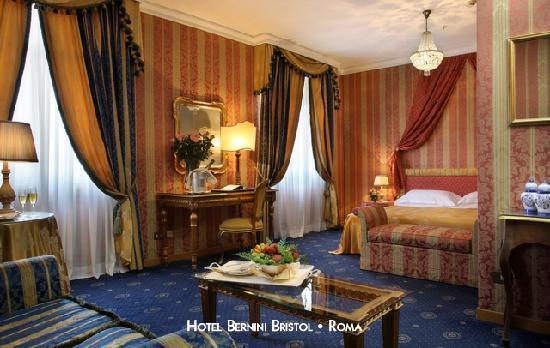 Hotel Bernini Bristol : Junior Suite classic style