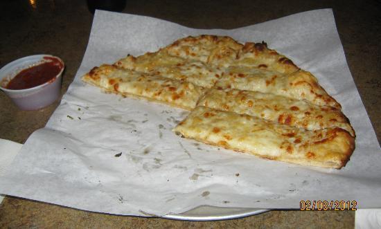 Bullman's Wood Fired Pizza: cheese sticks