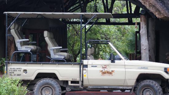 The Hide: Safari vehicle