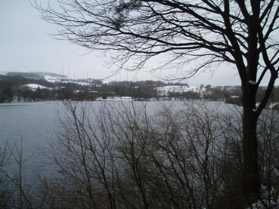Bolton, UK: View across the res 2