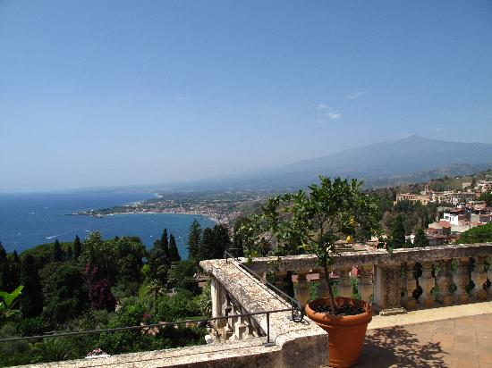 Belmond Grand Hotel Timeo: View from the presidential suite's terrasse