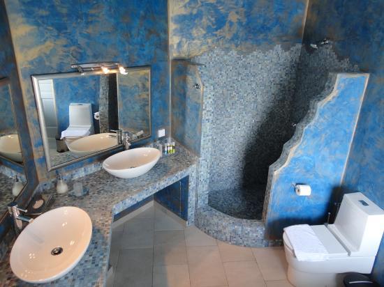 Aquamarine Bathroom Picture of Adamant Suites Fira TripAdvisor