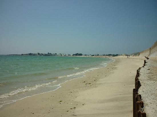Le Petit Mansart: la plage de Gâvres
