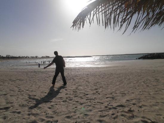 Al Mamzar Beach Park: Beach area at Al Mamzar Park