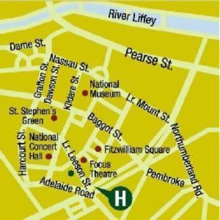 The Leeson Hotel: Map