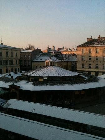 Bed & Breakfast Kolory: View from our room