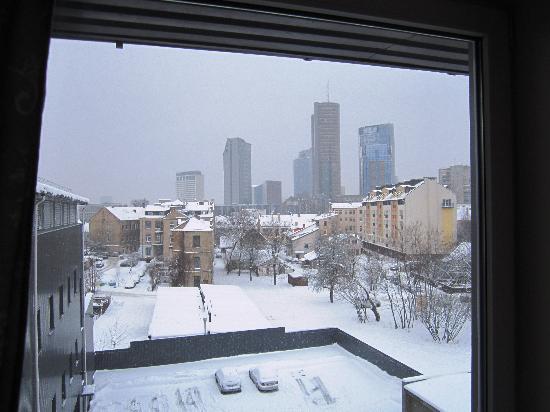 Ecotel Vilnius: vista do meu quarto ao acordar