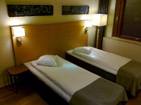 Scandic Segevang: Beds, room 12