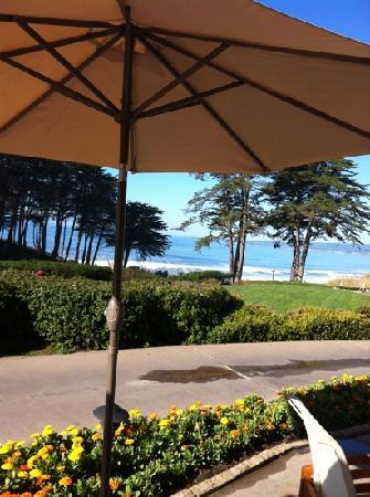 Sanderlings Restaurant: view