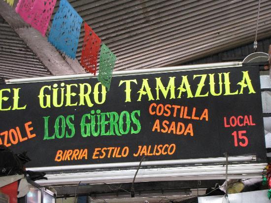 Mercado San Camilito: The locale