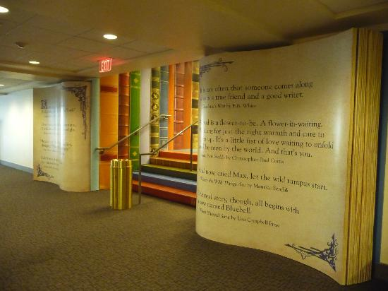 Kansas City Public Library: Storybook entrance to the Children's Library