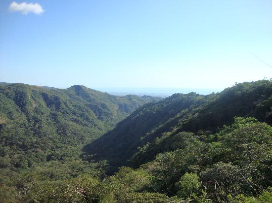 El Imposible National Park: Desde el mirador por la tarde