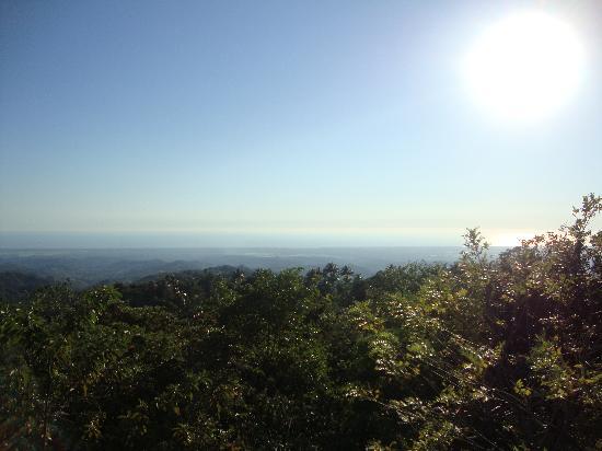Parque Nacional El Imposible: El sol visto desde el mirador