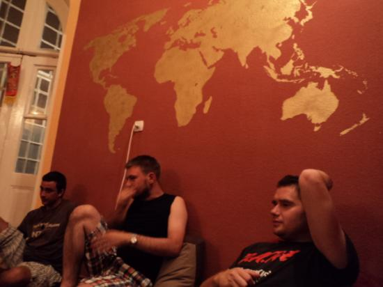 Why Not? Tbilisi Legend Hostel: Hang-out-and-chat time at Why Not
