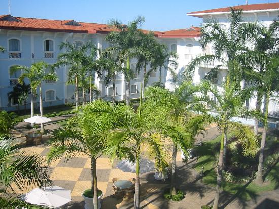 Quinta Real Villahermosa : courtyard view from my room