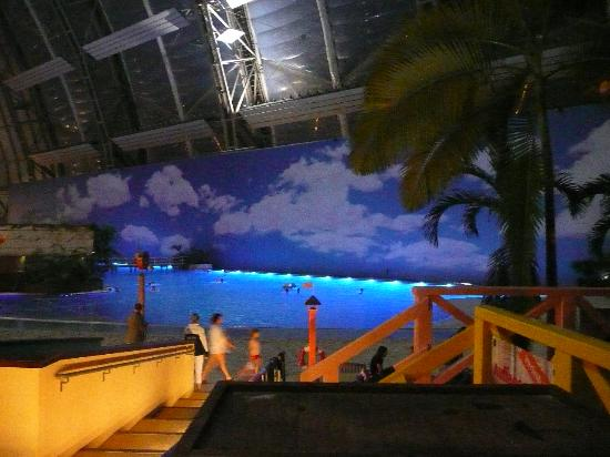 Beach At Night Picture Of Tropical Islands Krausnick