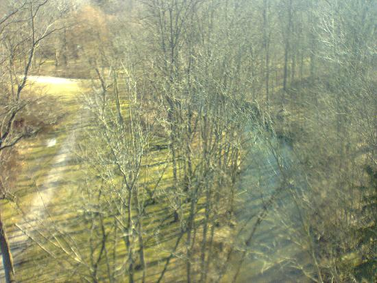 Trans Canada Trail: view from bridge