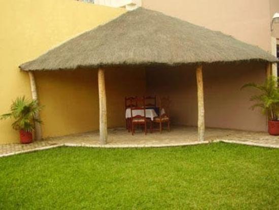 Hotel el Espanol: Garden