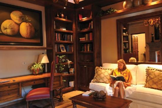 Belmond Casa de Sierra Nevada: Hotel Library