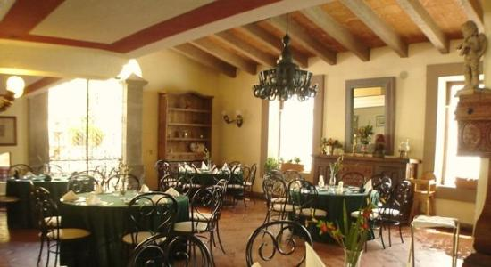 Hotel Hacienda del Molino: Restaurant