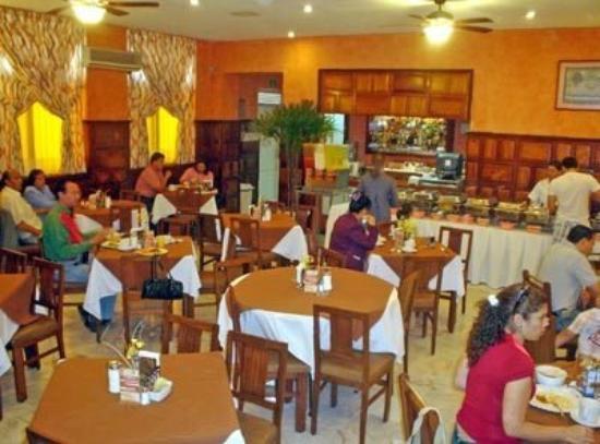 Hotel Isabel: Restaurant