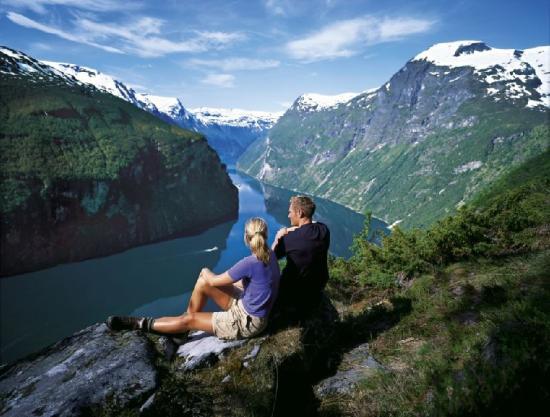 Hotel Brosundet: Geiranger Fjord