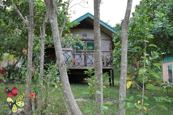 Majika's Island Resort: Our cabin