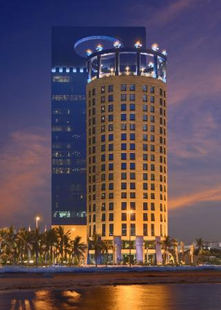 Rosewood Jeddah: Exterior at Night
