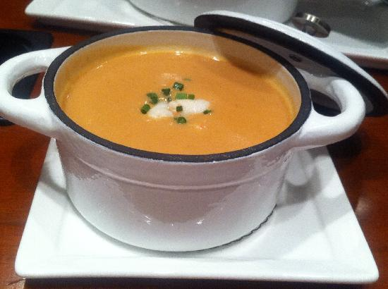 Madison Hotel: Lobster & Crab Bisque