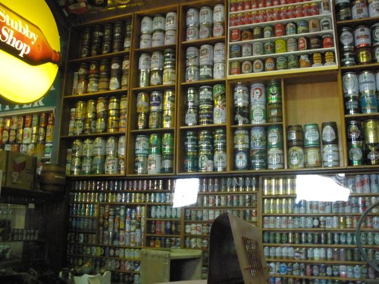 Echuca, Australia: just a few of the cans