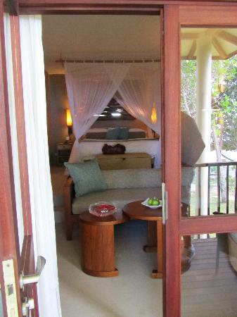 Kempinski Seychelles Resort: Du balcon