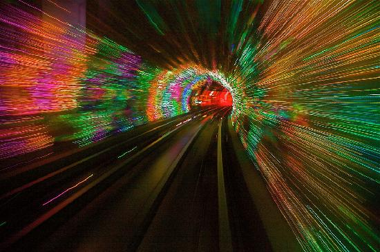 Sightseeing Tunnel, Shanghai