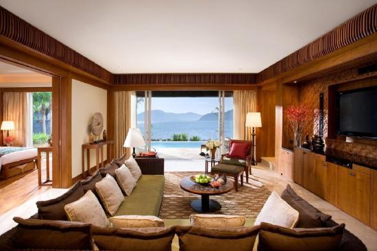 Mandarin Oriental, Sanya: Villa Living Room