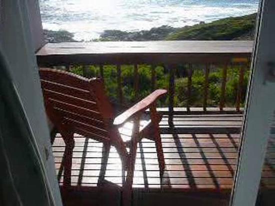 De Kelders B&B: Balkon des Raum's Elmien