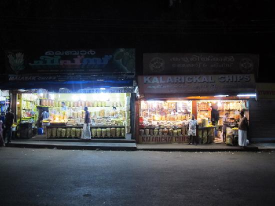 Cherukara Nest: Alleppey banana chip and halva shops